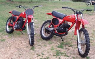 1976 HONDA CR125