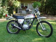 1972 HONDA SL125