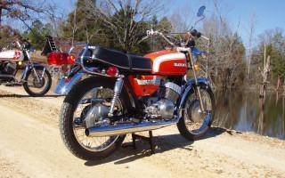 1972 SUZUKI R350 REBEL