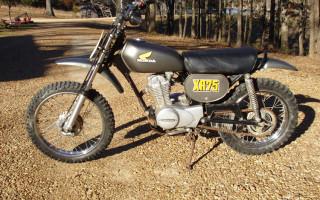 1974 HONDA XR75