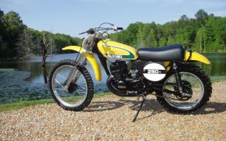 1974 SUZUKI TM250