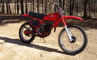 1977 HONDA CR125