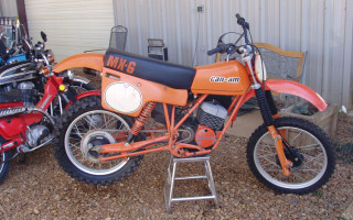 1977 MX6 125