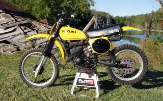 1977 SUZUKI RM125B