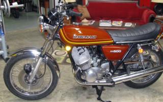 1976 KAWASAKI KH500 TRIPLE